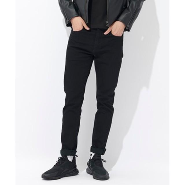 Levi's 【自宅で試着、返品送料無料】「CLASSIC」510 スキニーデニムパンツ メンズ ブラック