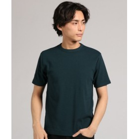 BACK NUMBER クルーネックTシャツ メンズ ダークグリーン