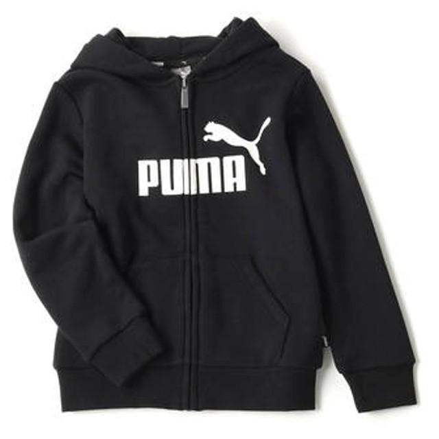 PUMA 【キッズスウェット2枚目半額】ジップアップパーカー キッズ ブラック
