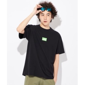 Lee ボックスロゴTシャツ メンズ ブラック