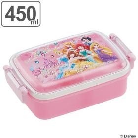 お弁当箱 ふわっとタイトランチBOX 450ml ディズニープリンセス プリンセス 子供 キャラクター ( 食洗機対応 幼稚園 保育園 弁当箱 )