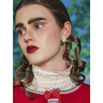 [PAMEO POSE]Cherry Earrings