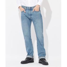 Levi's 「MADE IN THE USA」501 デニムパンツ メンズ 中濃加工色