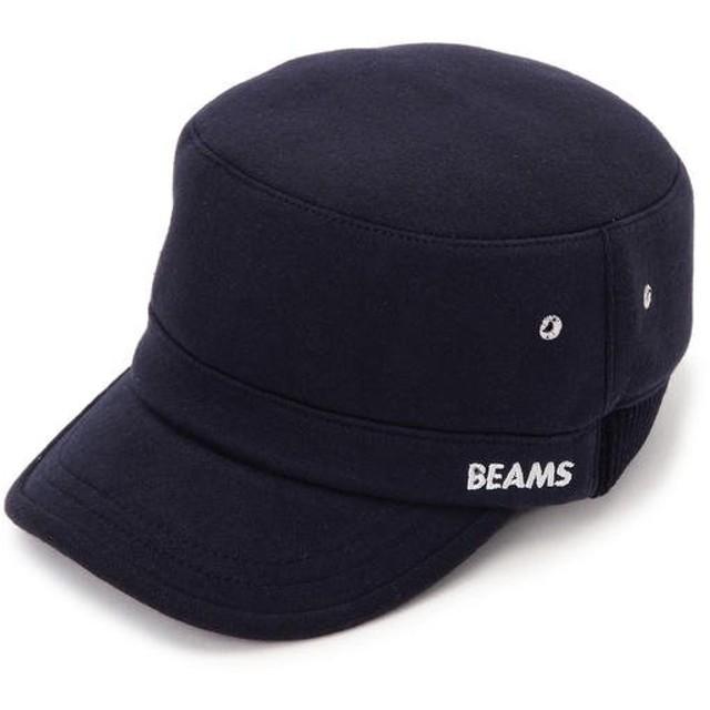 ビームス メン BEAMS / リブ切替 ワーク キャップ メンズ NAVY ONE SIZE 【BEAMS MEN】