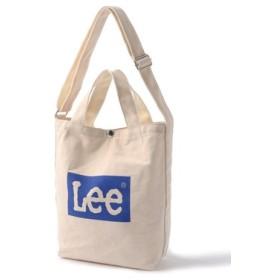 Lee リー ボックスロゴ2WAYショルダートートバッグ