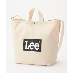 Lee ロゴ2wayショルダートートバッグバッグ キナリ
