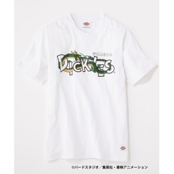 Dickies 【WEB限定】ドラゴンボールコラボTシャツ メンズ ホワイト