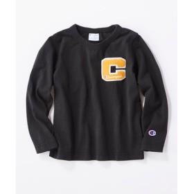 Champion 【WEB限定】バックプリントTシャツ キッズ ブラック