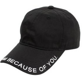 【Super Sports XEBIO & mall店:帽子】ロングベルト キャップ AG99AC1188 BLK