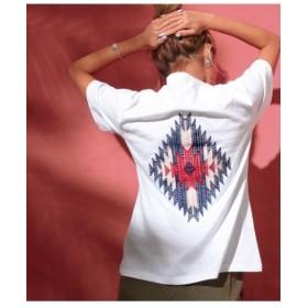 ANAP オルテガ刺繍Tシャツ / ホワイト / F (アナップ)