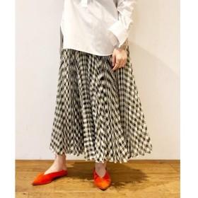 DRESSTERIOR / ドレステリア 【追加】ギンガムチェックシアープリーツスカート