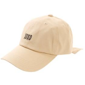 【Super Sports XEBIO & mall店:帽子】バックリボン キャップ AG99AC1187 BEG
