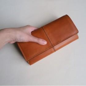 受注生産 Garçon wallet BROWN