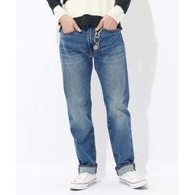 Levi's 「CLASSIC」505 ストレートデニムパンツ メンズ 淡加工色