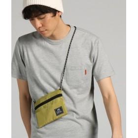 KRIFF MAYER 【WEB限定】サコッシュ付きTシャツ メンズ グレー