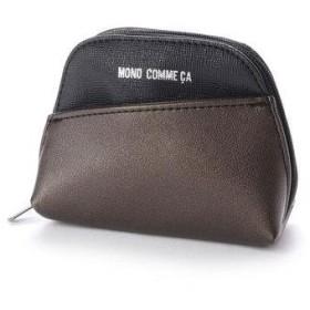 コムサイズム COMME CA ISM MONO マルチポーチ M (ブラック)