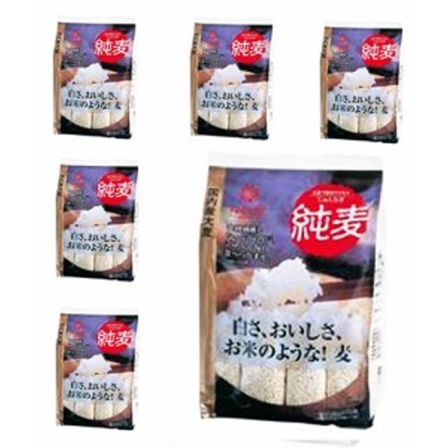 はくばく 純麦 スタンドパック (45g×12スティック) 1ケース(6袋入)