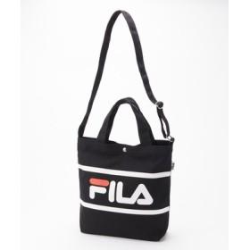 FILA 2wayショルダートートバッグ ブラック