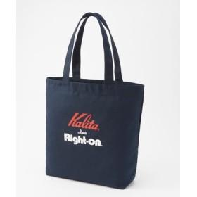 Kalita 【WEB限定価格】コラボロゴトートバッグ ネイビー