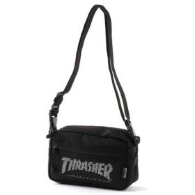 THRASHER ショルダーバッグ メンズ ブラック