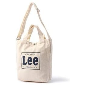 Lee 2wayショルダートートバッグ ネイビー