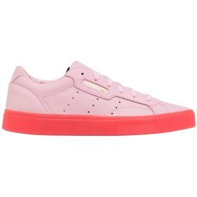 《期間限定 セール開催中》ADIDAS ORIGINALS レディース スニーカー&テニスシューズ(ローカット) ピンク 3.5 革 adidas SLEEK