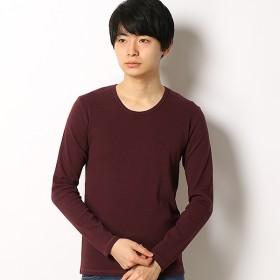 [マルイ]【セール】スパンフライス長袖UネックTシャツ/アドポーション(ADOPOSION)