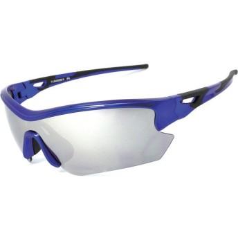 スポーツアクセサリー サングラス ARC 6186-18 BIKE-MBBK/SSM METALLIC BLUE/BLACK