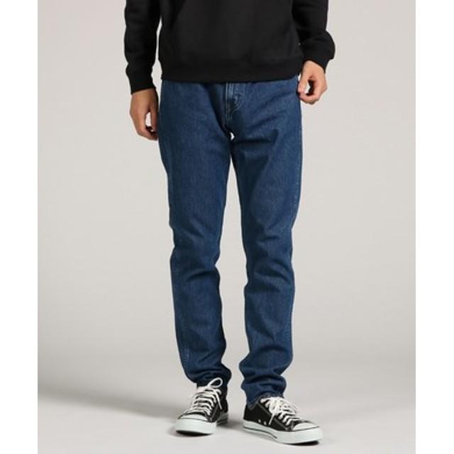 Levi's 【WEB限定】「LINE8」 スリムテーパードデニムパンツ メンズ 中濃色
