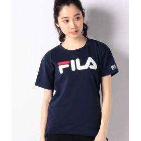 フィラ ベーシック半袖Tシャツ レディース ネイビー M 【FILA】