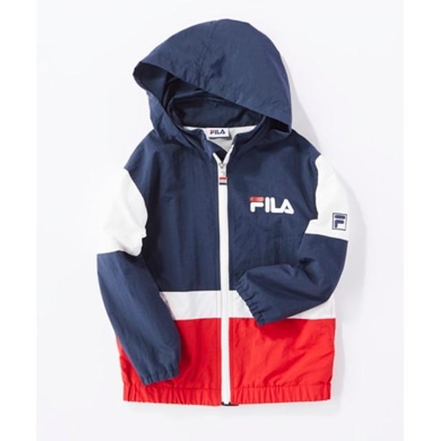 FILA 【ライトオン40周年記念限定モデル】フードブルゾン キッズ ネイビー