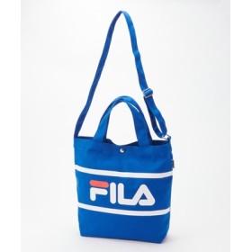FILA 2wayショルダートートバッグ ブルー
