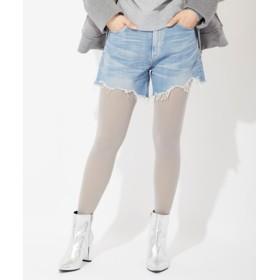 Lee 【WEB限定】カットオフデニムショートパンツ レディース 淡加工色