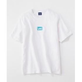 Lee ボックスロゴTシャツ メンズ ホワイト