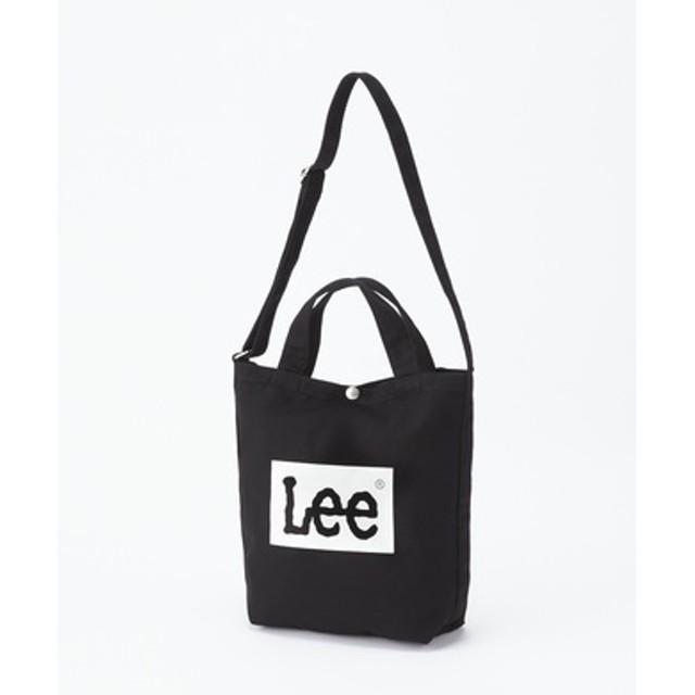 Lee 【WEB限定】 ボックスロゴショルダーバッグ キッズ ブラック