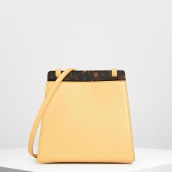 カウベル クロスボディバッグ / Cow Bell Crossbody Bag (Yellow)