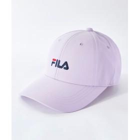 FILA ロゴキャップ キッズ ライラック