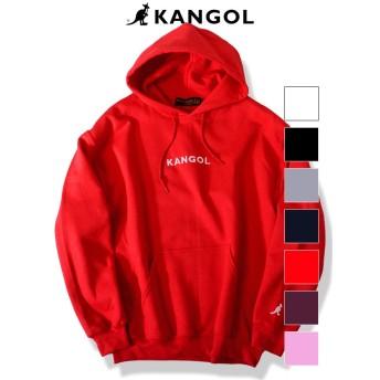 KANGOL カンゴール パーカー スウェット レディース メンズ ユニセックス 大きめ 大きいサイズ ブランド プルオーバー 裏起毛 おしゃれ ピンク 赤 別注商品 ARKG-901