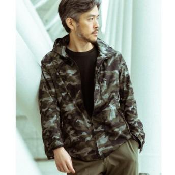 【エディフィス/EDIFICE】 LIMONTA / KOMATSU カモフラブルゾン