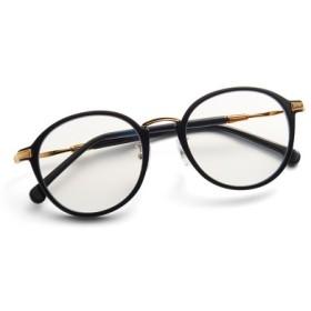 紫外線とブルーライトから瞳を守る 大人好みの眼鏡見えサングラス〈ブラック〉 IEDIT[イディット] フェリシモ FELISSIMO【送料無料】