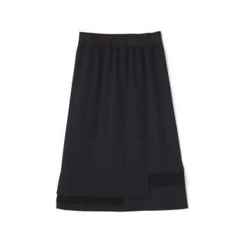 アッシュ・スタンダード H/standard リバーシブルレーススカート ネイビー S【税込10,800円以上購入で送料無料】