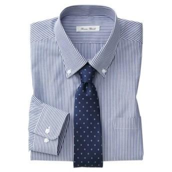 抗菌防臭。形態安定長袖ワイシャツ(ボタンダウン)(標準シルエット) 大きいサイズメンズ (ワイシャツ)Shirts, テレワーク, 在宅, リモート