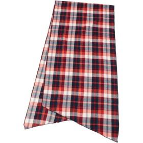 アンカットバウンド Long scarf plaid f ロングスカーフ /Engineered Garments(エンジニアド ガーメンツ) メンズ RED 00 【UNCUT BOUND】