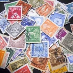 スウェーデン 使用済み切手