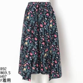 [マルイ]【セール】【大きいサイズ】フラワープリント ギャザースカート/ラクープ(LACOUPE)