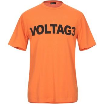 《9/20まで! 限定セール開催中》DIESEL メンズ T シャツ オレンジ S コットン 100%