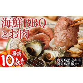 C0-017【焼くだけ簡単】光子社長厳選 海鮮BBQとお肉のセット