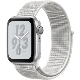 AppleApple Watch Nike+ Series 4(GPSモデル)- 40mmシルバーアルミニウムケースとサミットホワイトNikeスポーツループMU7F2J/A