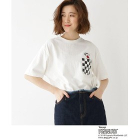 BASE STATION / ベースステーション 【WEB限定】 ピーナッツ 別注  JOECOOL スヌーピー チェックポケット Tシャツ