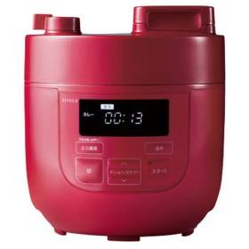 電気圧力鍋 赤 炊飯器・ホームベーカリー